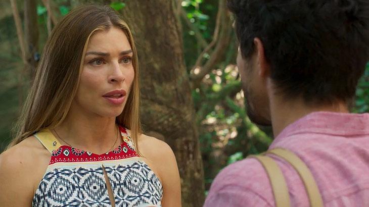 Bom Sucesso: Paloma dá um chega prá lá em Marcos e manda ele crescer
