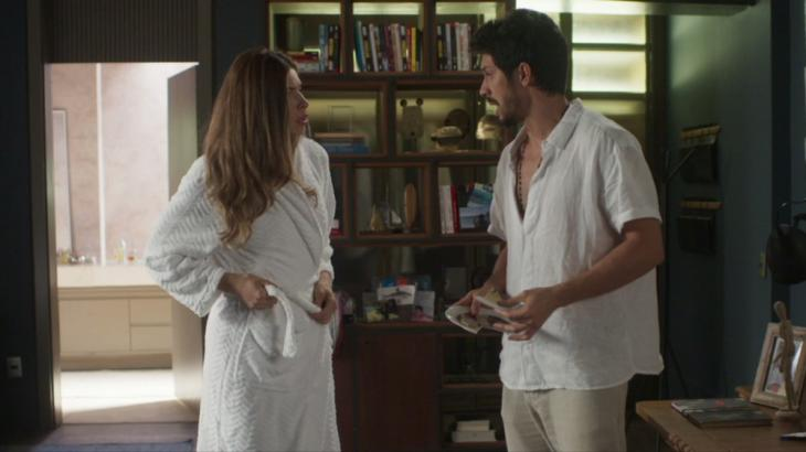 Paloma e Marcos vão assumir namoro (Foto: Globo/Reprodução)
