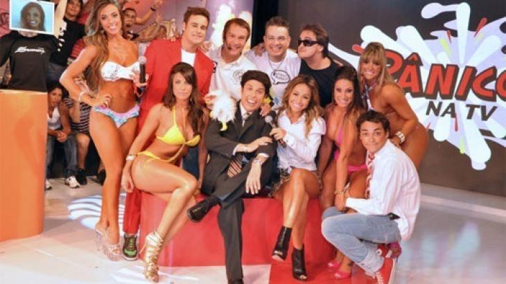 A trupe do Pânico, que fez sucesso na RedeTV! entre 2003 e 2011 - Divulgação/RedeTV!