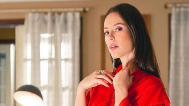 Vivi fica mexida com as investidas de Luan Santana - Reprodução/TV Globo