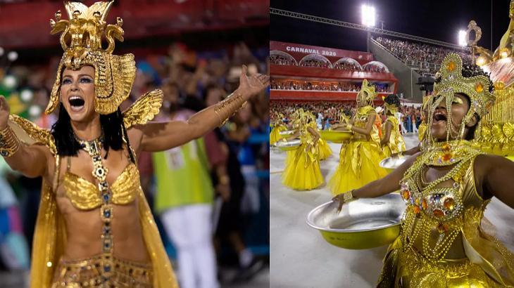 Paolla Oliveira bate na trave e Viradouro é a campeã do carnaval do RJ
