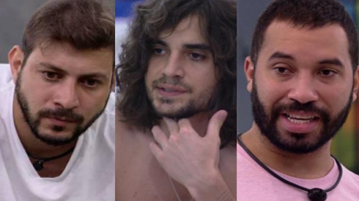 Caio, Fiuk e Gilberto formam o novo Paredão do BBB21; quem vai sair?