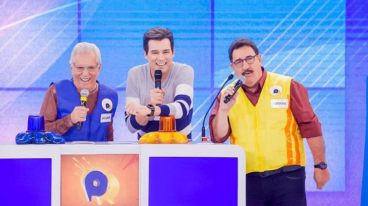 Carlos Alberto de Nóbrega e Ratinho se enfrentaram no