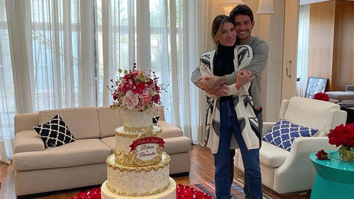 Pato e Rebeca Abravanel celebram 1 ano casados e publicam foto inédita