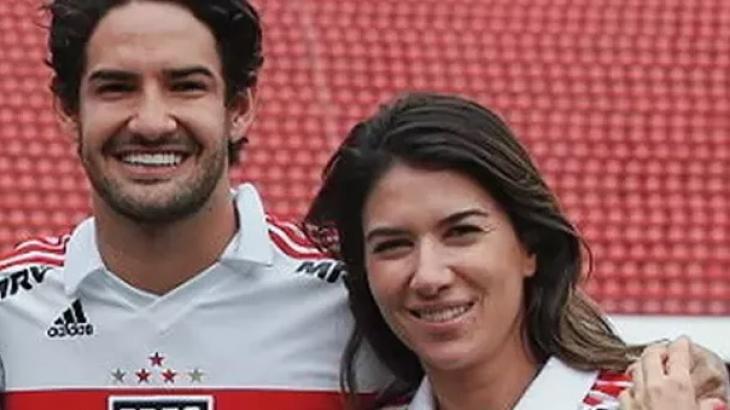 Alexandre Pato revela que Rebeca Abravanel está entrando no clima do futebol
