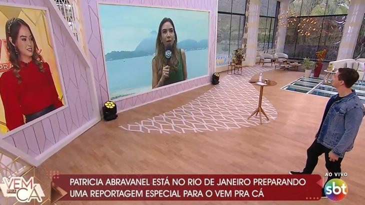 Patrícia Abravanel não aparece no estúdio do Vem pra Cá e assusta; saiba o motivo