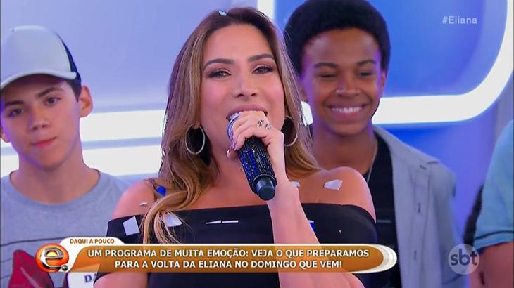 """Patricia Abravanel se despede do programa \""""Eliana\"""" com 18 derrotas em 21 edições"""