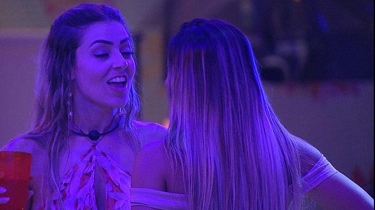 Paula afirma que ficou com consciência pesada após beijar Alan