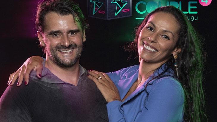 Alexandre Folhas e Paula Pequeno