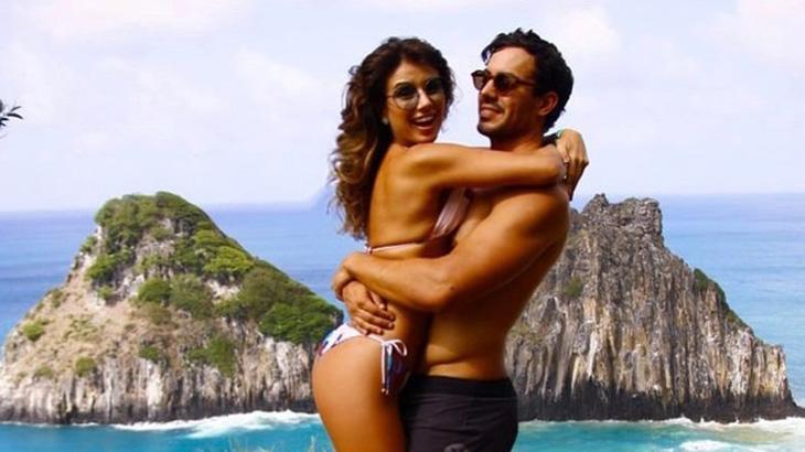 Paula Fernandes com o namorado - Reprodução/Instagram