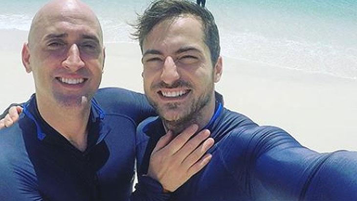 Paulo Gustavo e Thales Bretas trocam declaração de amor em rede social