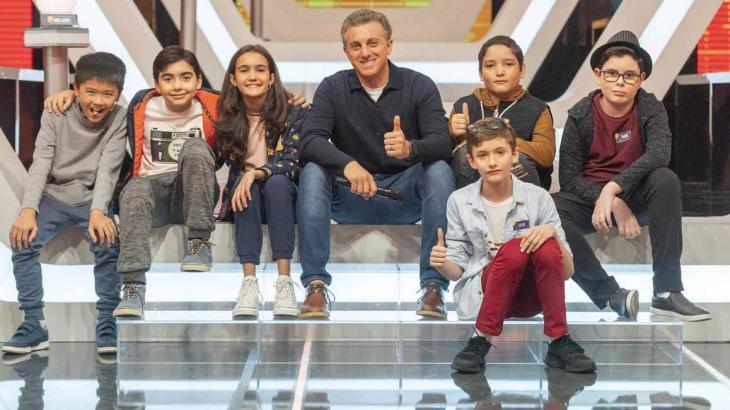 Pequenos Gênios é o novo quadro do Caldeirão do Huck - Divulgação/TV Globo