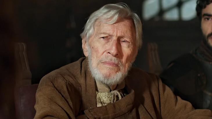 O ator Pietro Mário na novela Deus Salve o Rei