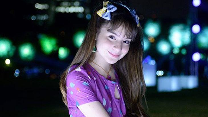 Sophia Valverde é Poliana - Divulgação/SBT