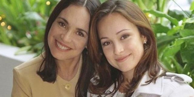 Regina Duarte com a filha, Gabriela Duarte