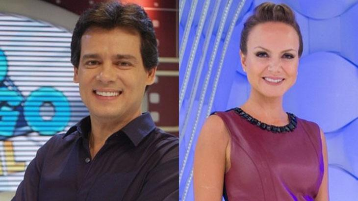 Celso Portiolli e Eliana: programas são reprisados até março - Divulgação/SBT