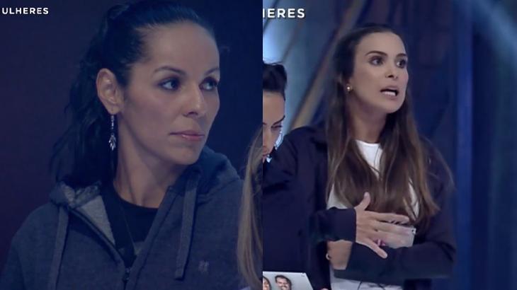 Paula Pequeno x Kamilla Salgado: rixa declarada - Reprodução/Record