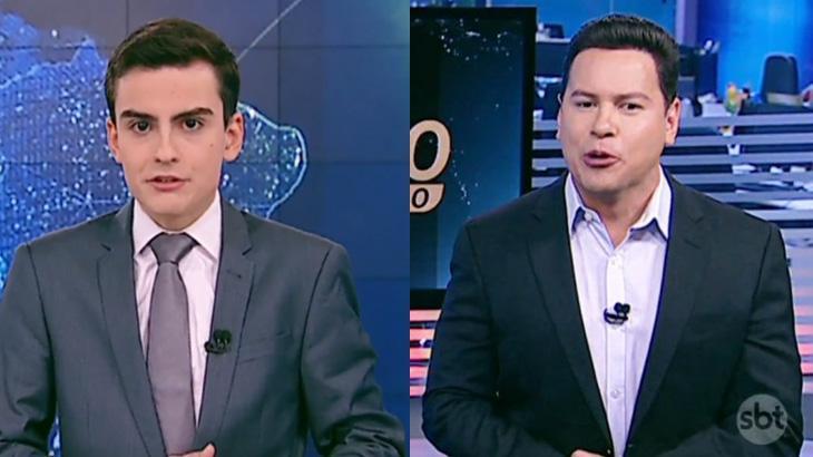 Dudu Camargo e Marcão do Povo se revezam no comando do