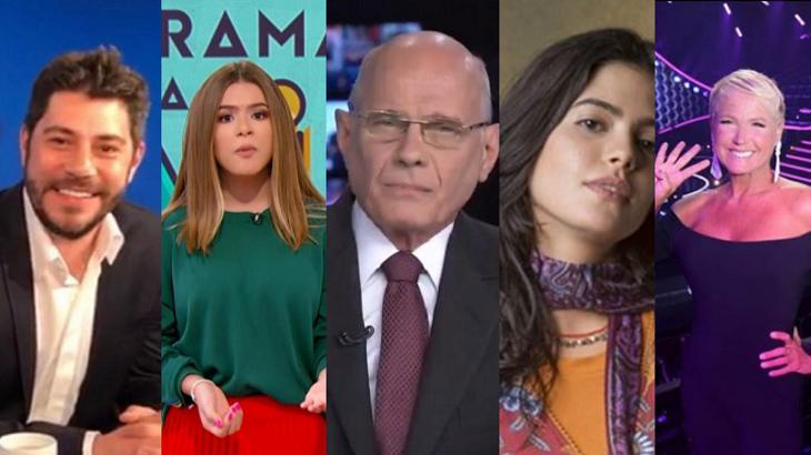 Primeiro semestre movimentou a televisão brasileira em 2019 - Foto: Montagem