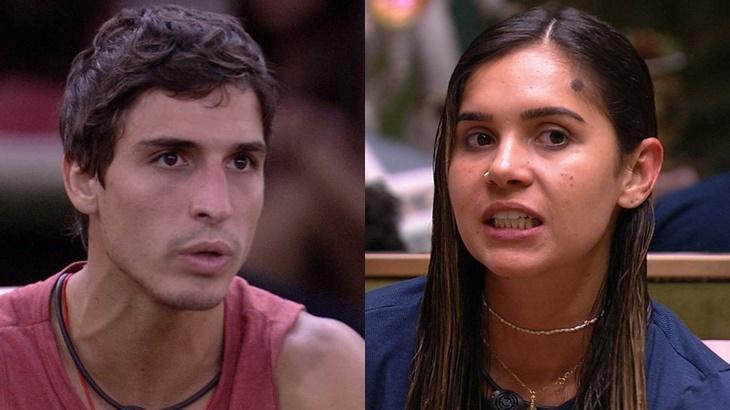Felipe Prior analisou e falou sobre a postura de Gizelly no BB20 - Foto: Globo/Reprodução