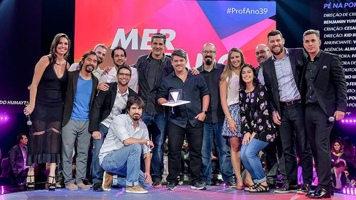 Globo premia o mercado publicitário na 39ª edição do
