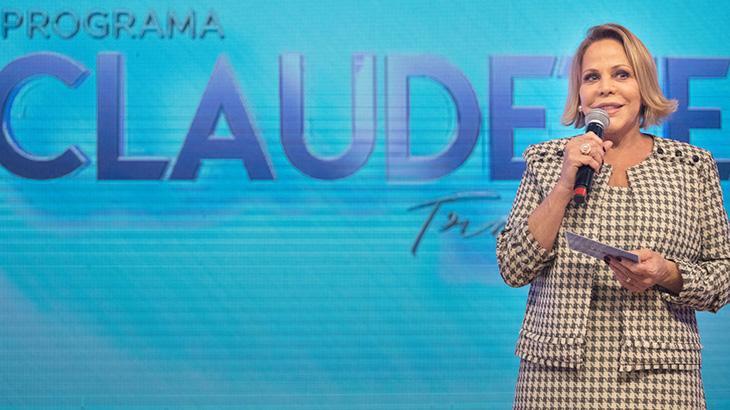 Claudete Troiano realiza sonho com talk-show - Fotos: Gustavo Cabral/A12