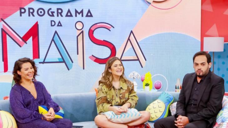 Fernanda Souza e Matheus Ceará foram os convidados para a estreia do