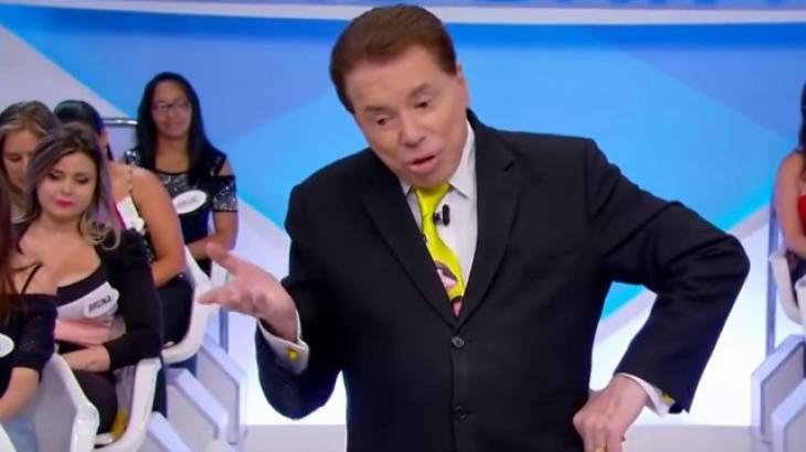Silvio Santos em seu programa no SBT - Reprodução/SBT