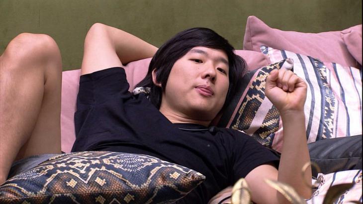 Pyong Lee não poupou seguidor que fez questionamento - Foto: Globo