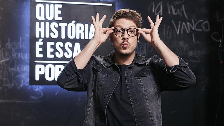 Fábio Porchat estreia primeiro programa solo após deixar a Record
