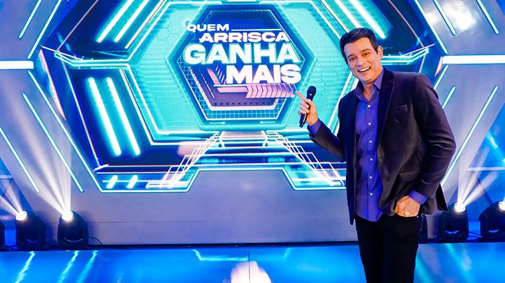 Quem Arrisca Ganha Mais é o novo game-show do Domingo Legal
