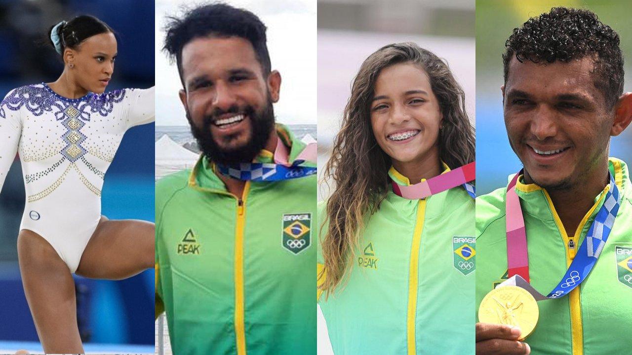 Qual seu atleta olímpico favorito?