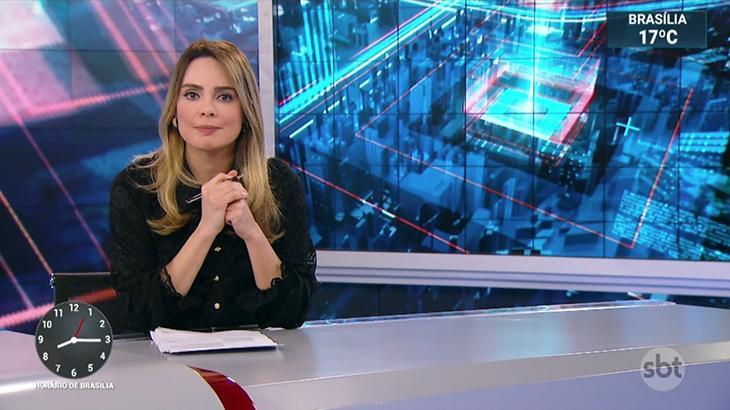 Rachel Sheherazade, apresentadora do SBT Brasil