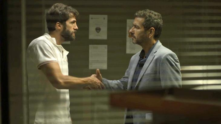 Rael e Amadeu se entendem e firmam um pacto - Foto: Reprodução