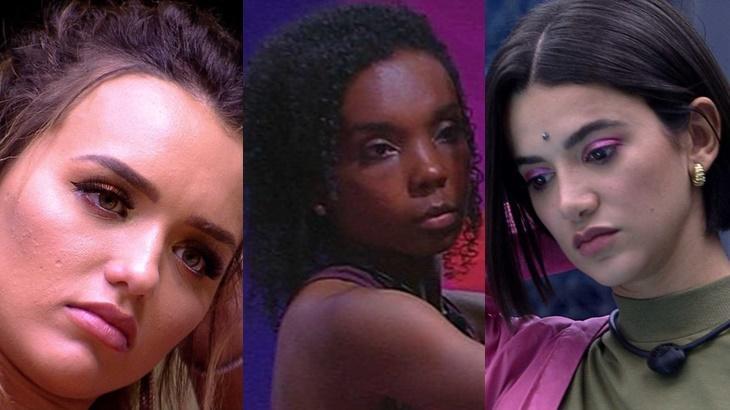 Rafa Kalimann, Thelma e Manu Gavassi podem roubar prêmio de Babu Santana no BBB20 - Foto: Globo/Montagem