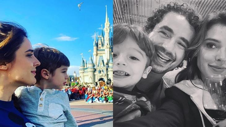 Rafa Brites e o filho Rocco, fruto do casamento dela com Felipe Andreoli. (Reprodução/Instagram)