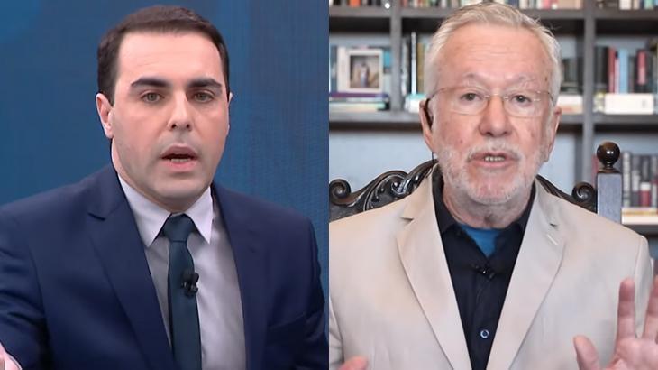 Rafael Colombo enquadra Alexandre Garcia sobre cloroquina: