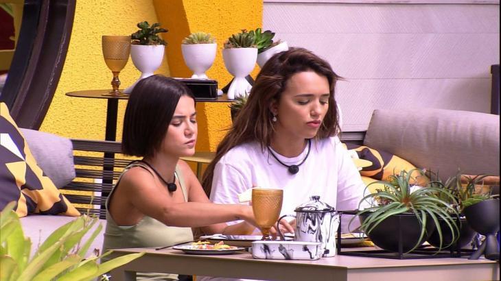 Manu e Rafa conversam na Xepa - Reprodução/Globoplay