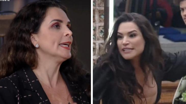 Luiza Ambiel e Raissa Barbosa nervosas