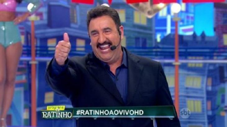 Ratinho teve bons índices de audiência na semana passada - Foto: Reprodução/SBT