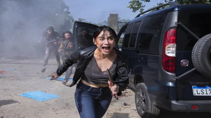 Reality Z: Atriz revela bastidor de série zumbi da Netflix: