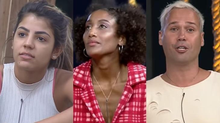 Peões que estiveram envolvidos em polêmicas no reality show A Fazenda 2019 (Reprodução/Montagem)