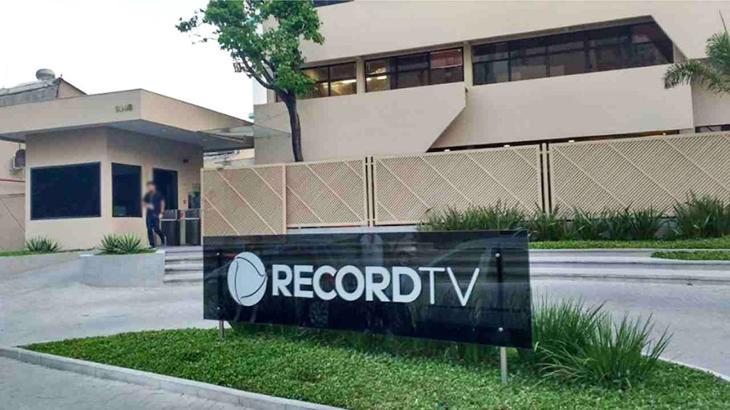 Sede da Record na Barra Funda, em São Paulo
