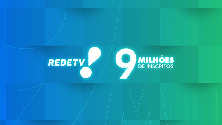 RedeTV! comemora marca alcançada no YouTube - Divulgação