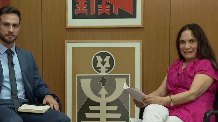 Regina Duarte foi entrevistada pela CNN Brasil - Foto: Reprodução