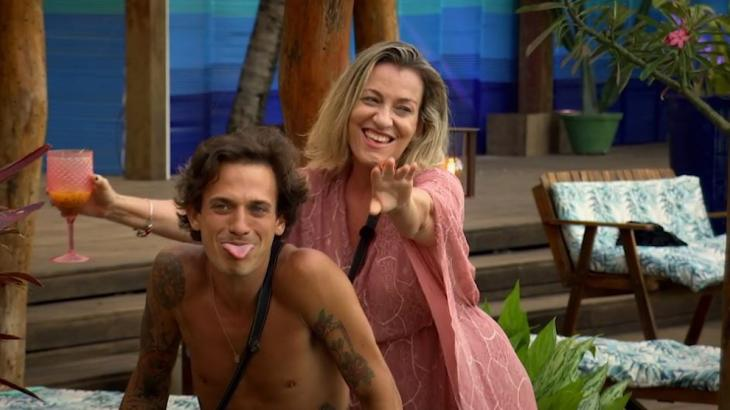 Regina e Igor curtem no De Férias com o Ex - Divulgação/MTV