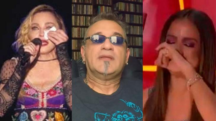 Régis Tadeu criticou dueto entre Anitta e Madonna - Foto: Montagem