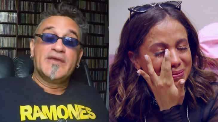 Anitta foi criticada por Régis Tadeu - Foto: Montagem