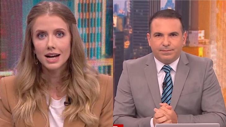"""Gottino pede desculpas para Gabriela Prioli no ar: """"Não estou aqui para julgar"""""""