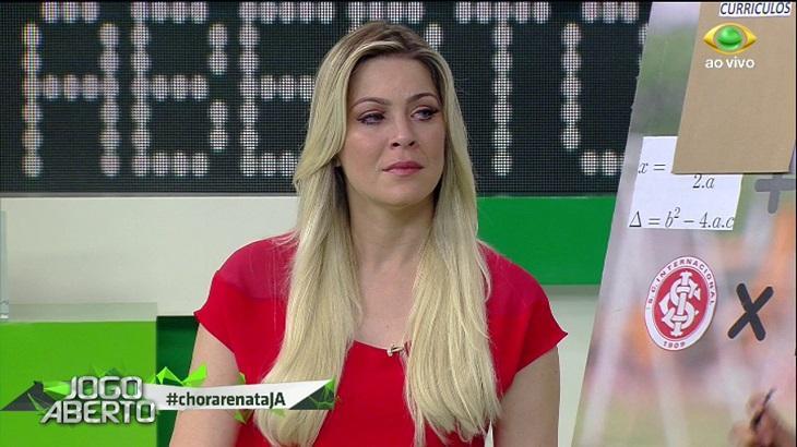 Renata Fan é apresentadora do